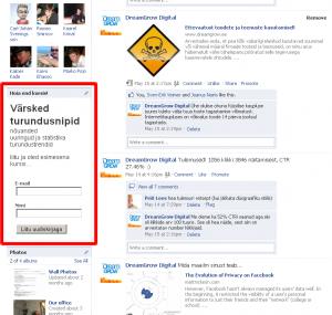 e-maili turundus sotsiaalne-meedia