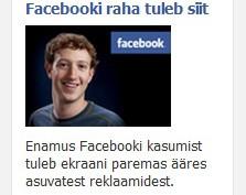 facebooki kasum