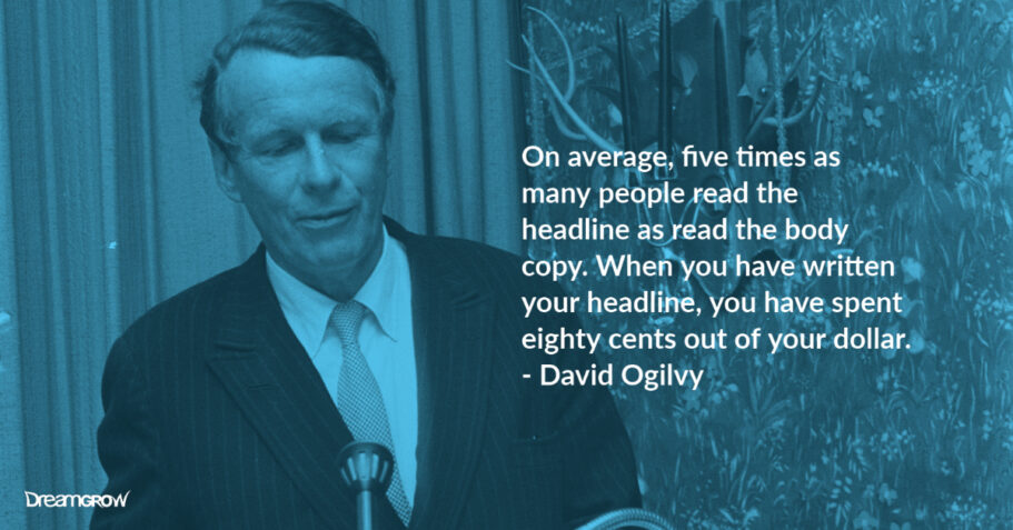 david ogilvy headlines