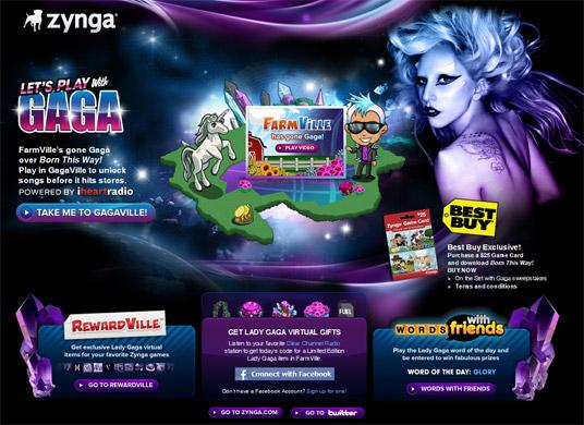 GagaVille-Lady-Gaga-FarmVille-Facebook-Campaign