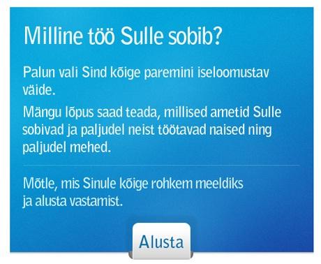 sotsiaalministeeriumi sotsiaalne test 50 000 kasutajat
