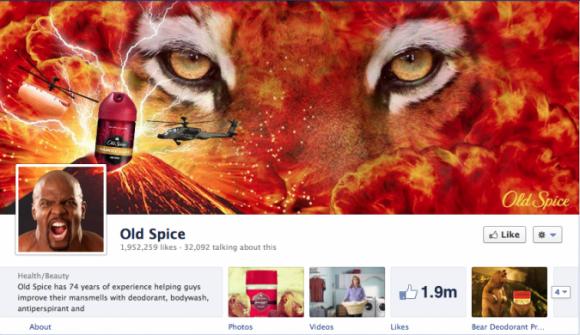 Head näited Facebooki timeline brändilehtedest
