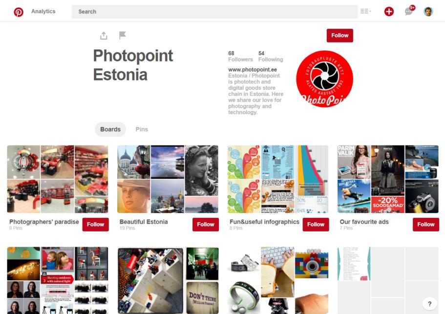 photopoint pinterest