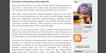 sevenline blogimine