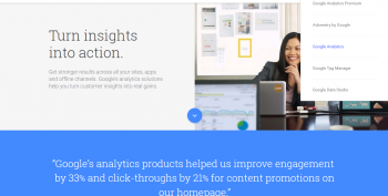 google analytics konto loomine