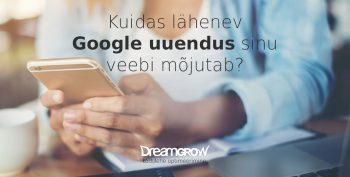 kodulehe optimeerimine mobiilne veeb