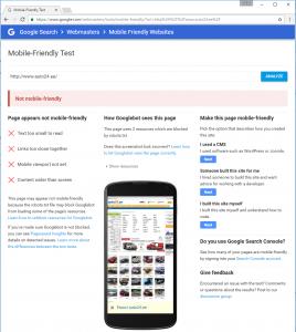 mobiilisobralik veeb vead seo