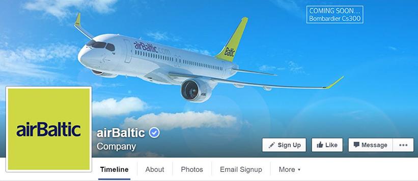 AirBaltic-Facebook