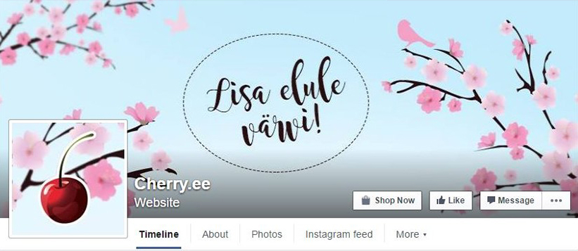 Cherry-Facebook
