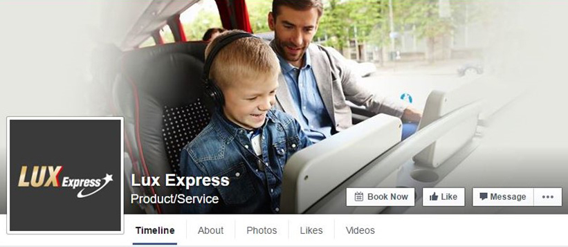 LuxExpress-Facebook