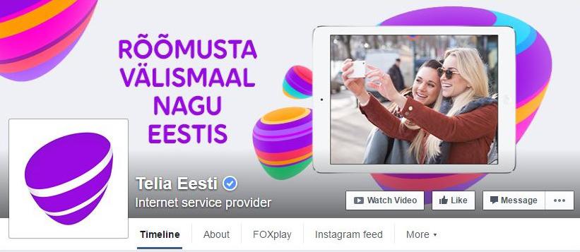 Telia-Facebook