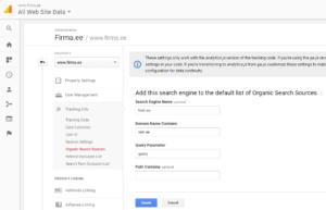 google analytics seaded neti.ee 2
