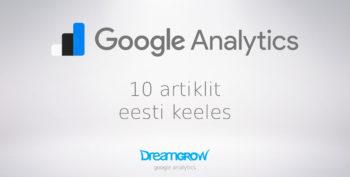 google analytics eesti keeles