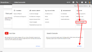 adwords search sonsole
