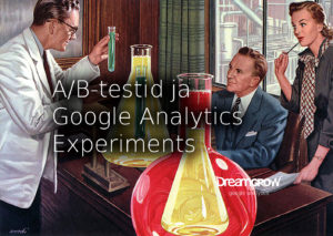 ab testimine google analytics