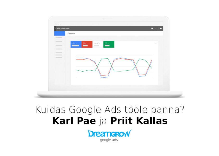 google ads haldus
