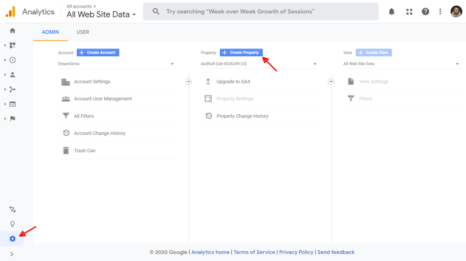 google analytics 4 seadistamine 1