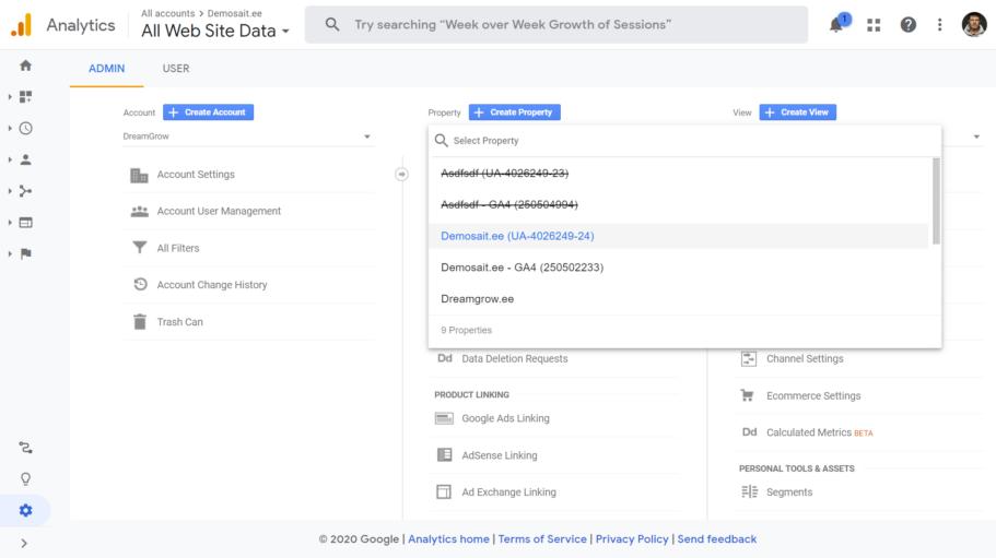 google analytics 4 seadistamine 9