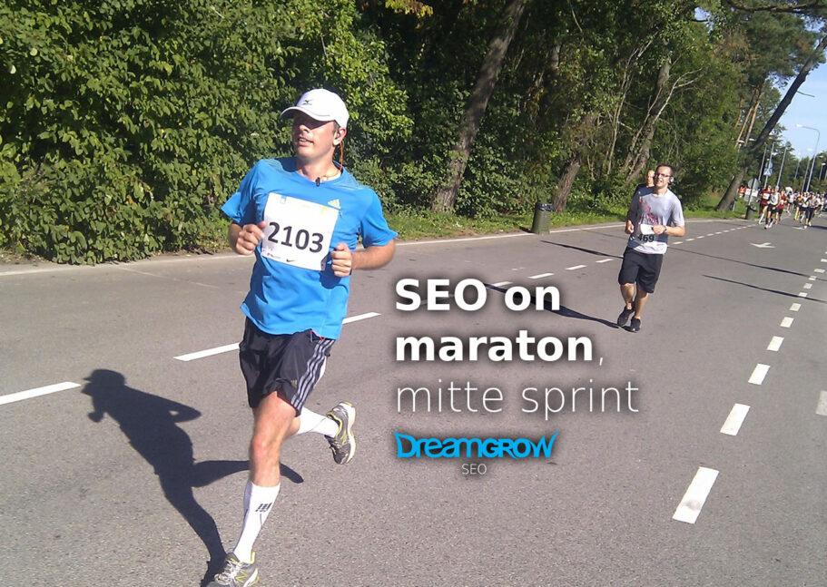 seo maraton kodulehe optimeerimine