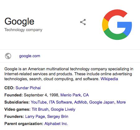 struktureeritud andmed logo